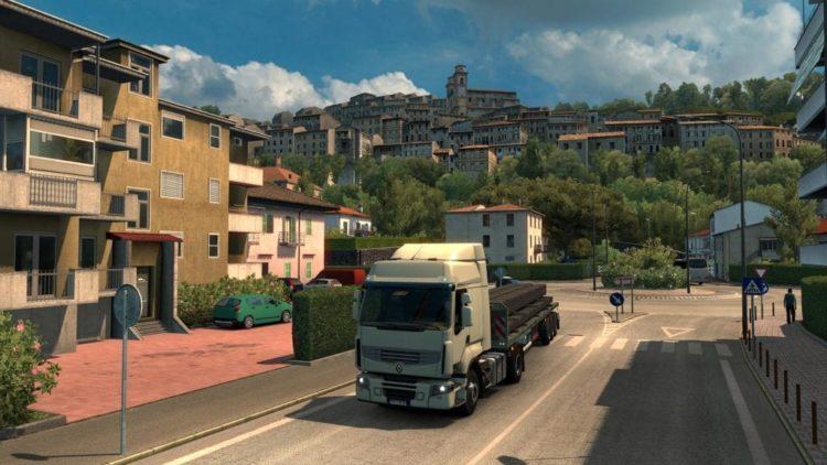 Euro Truck Simulator 2 Italia expansion announced