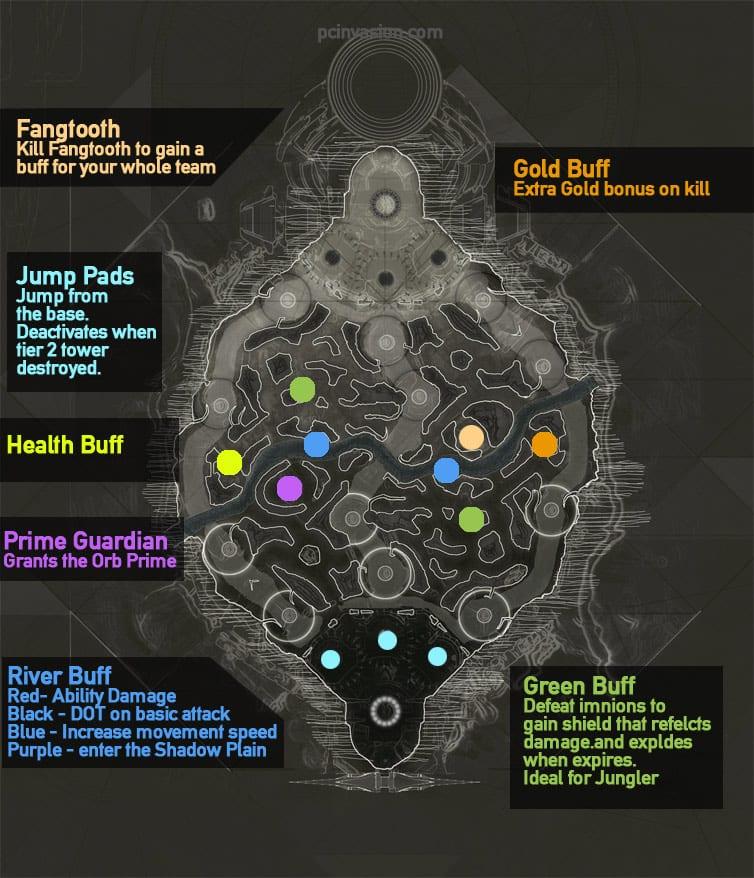 Paragon Map New