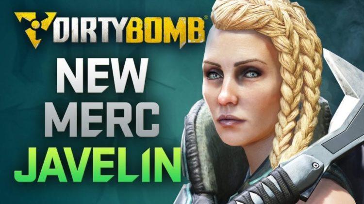 Dirty Bomb's next Merc revealed as rocket launching Norwegian Javelin
