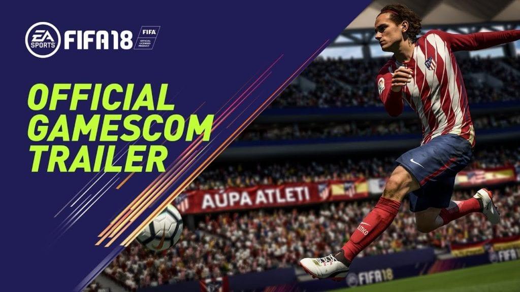 FIFA 18 Gamescom trailer confirms feet, balls, and players