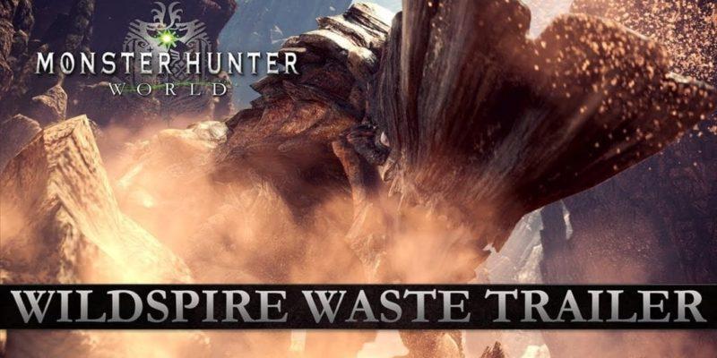 Monster Hunter World Wildspire Waste Trailer Shows Returning Barroth