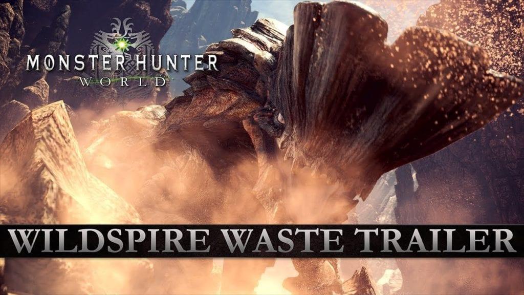 Monster Hunter World trailer heads to Wildspire Waste