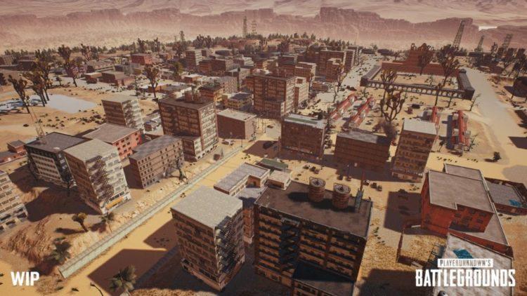 PlayerUnknown's Battlegrounds new desert map revealed