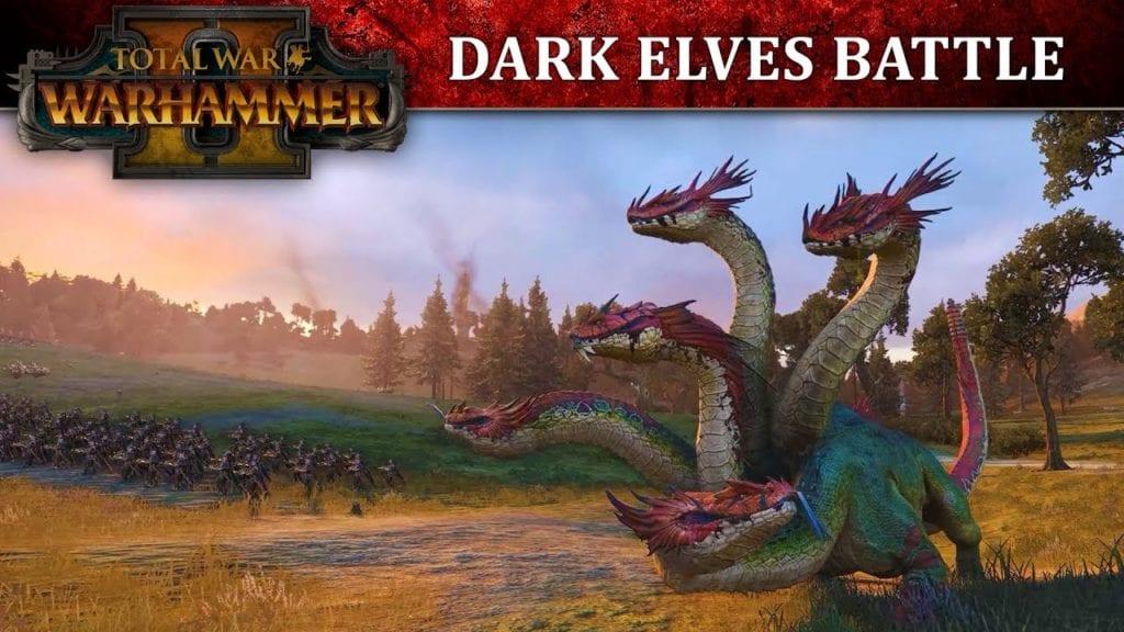 Total War: Warhammer 2 video shows Dark Elf battle gameplay