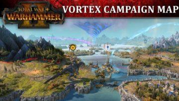 Total War: Warhammer 2 Vortex Campaign map tour video
