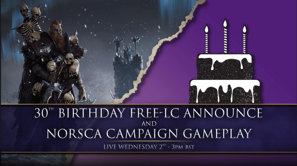 Total War: Warhammer free DLC reveal tomorrow, plus Throgg skills array