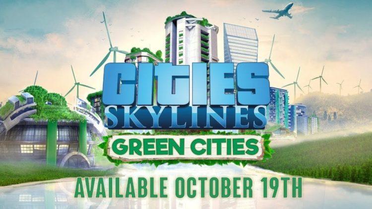 Cities: Skylines paints Green Cities in October