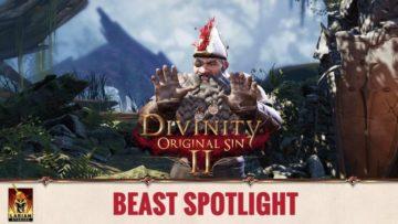 Divinity: Original Sin 2 video spotlights sailor dwarf Beast