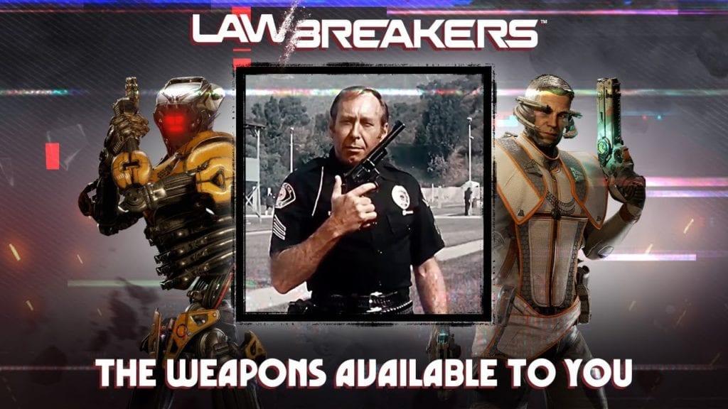 Lawbreakers free weekend starts 28 September