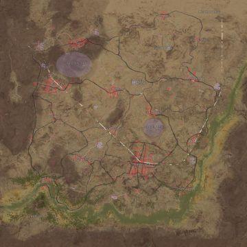 playerunknowns battlegrounds map