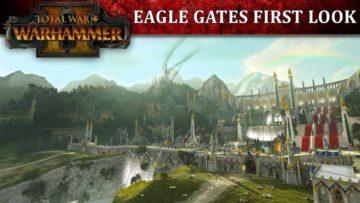 Total War: Warhammer 2 video shows Eagle Gates siege