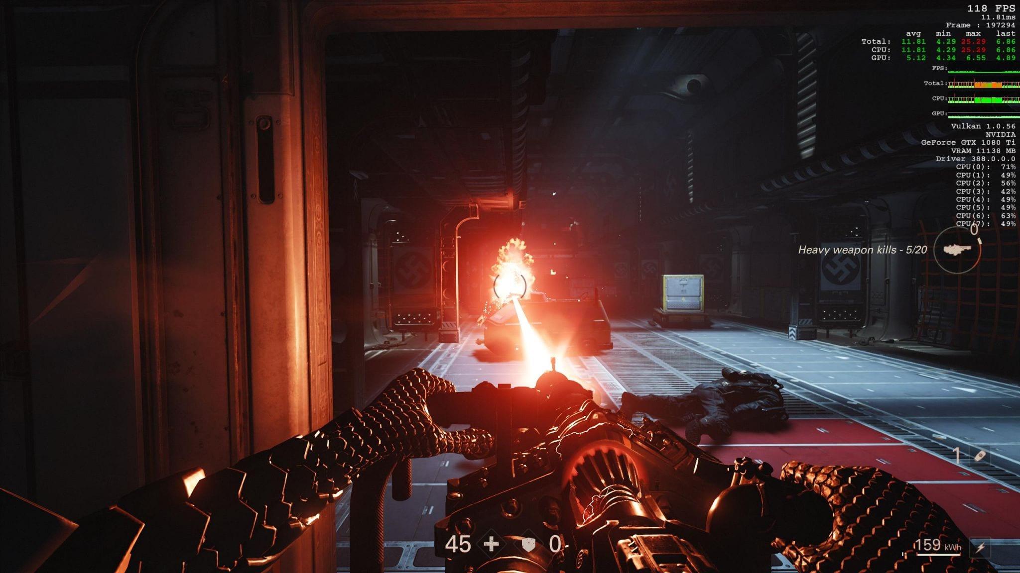 Wolfenstein 2 - The New Colossus Preview - Die Technik und