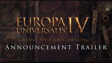 Europa Universalis IV reveals Cradle of Civilization DLC for late 2017