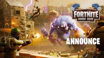 Fortnite Horde Bash arrives Thursday with the Challenge Horde Mode