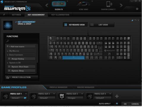 Roccat Suora FX mechanical keyboard review