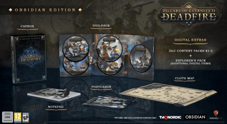 Pillars of Eternity 2: Deadfire releasing in April