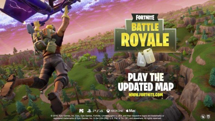 Fortnite Battle Royale new map lands tomorrow. Large download warning