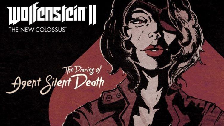Wolfenstein 2: The Diaries of Agent Silent Death DLC released