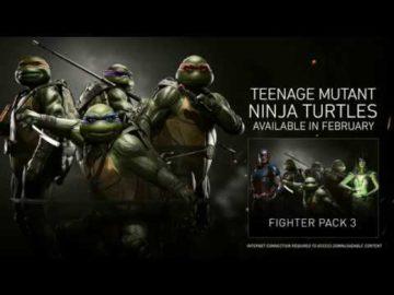 Injustice 2 video shows the TeenageMutant Ninja Turtles in action