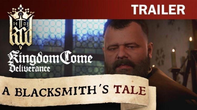 Kingdom Come: Deliverance – A Blacksmith's Tale gameplay trailer