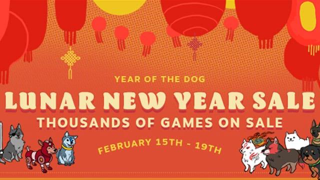 Steam Lunar New Year Sale begins