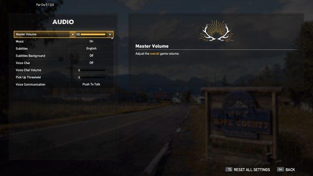 Far Cry 5 Options 5