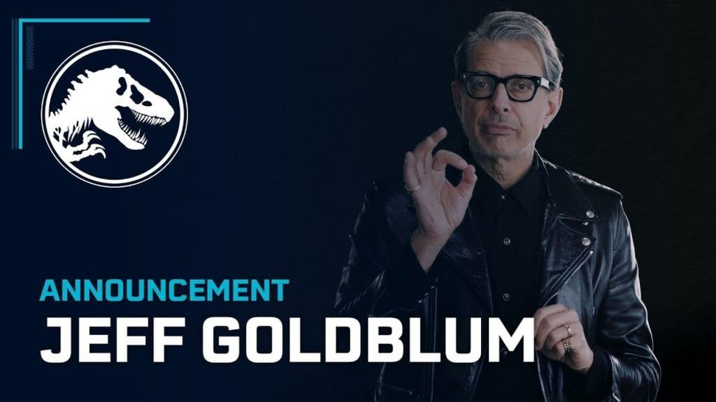 Jeff Goldblum is back in Frontier's Jurassic World Evolution