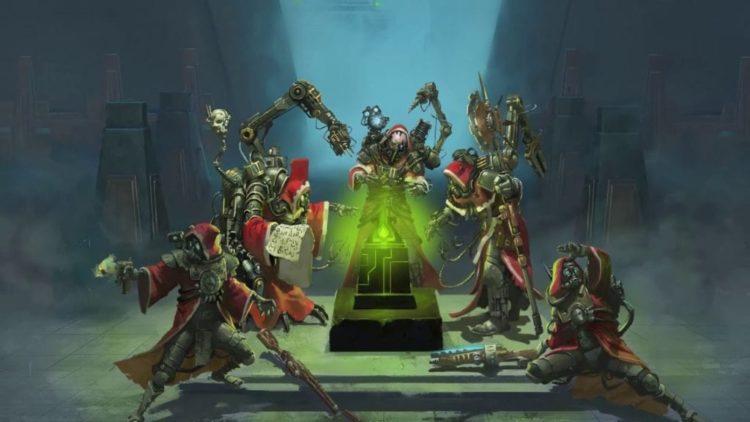 Warhammer 40,000: Mechanicus shows the Necrons