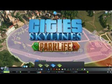 Cities: Skylines Parklife DLC gameplay on show