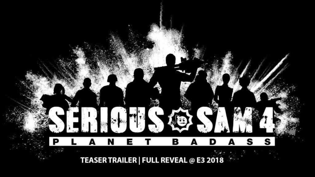 Serious Sam 4: Planet Badass teaser trailer – E3 reveal coming