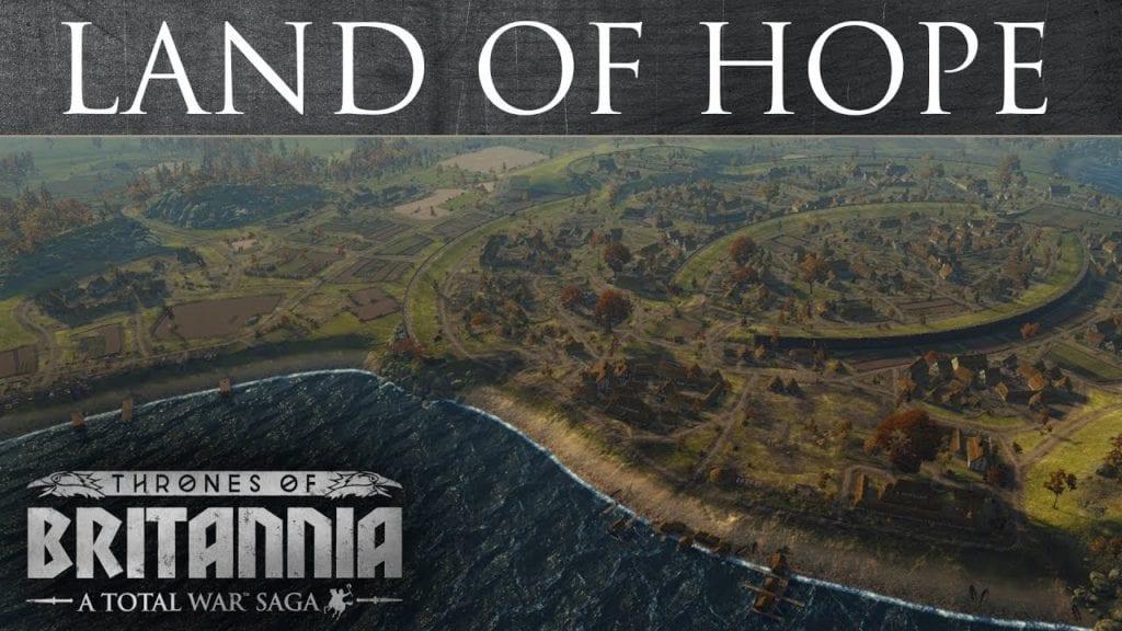 Total War Saga – Thrones of Britannia Land of Hope trailer looks damp
