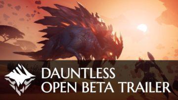 Dauntless Open Beta Is Now Live