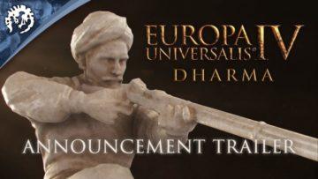 Europa Universalis Iv: Dharma Expansion Announced