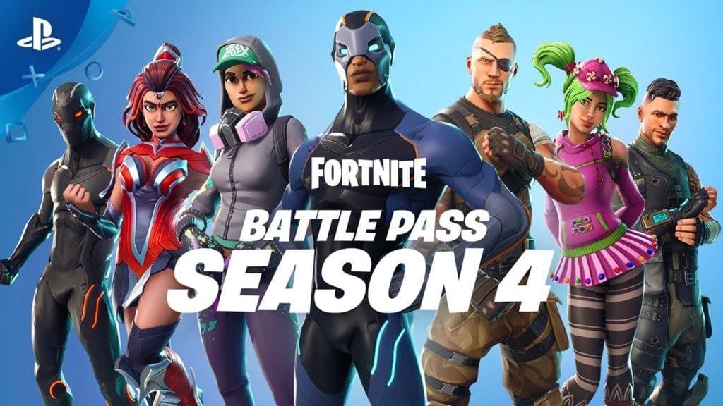 Fortnite Season 4 Battle Pass available – Trailer