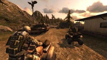 Quake Wars Enemy Terriitory