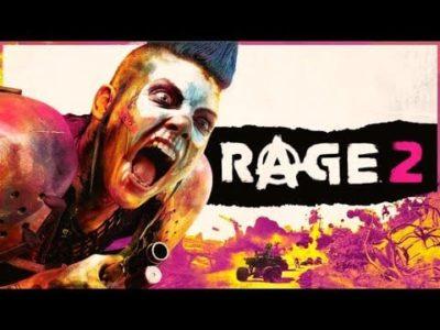 Rage 2 Teaser Trailer Reelased