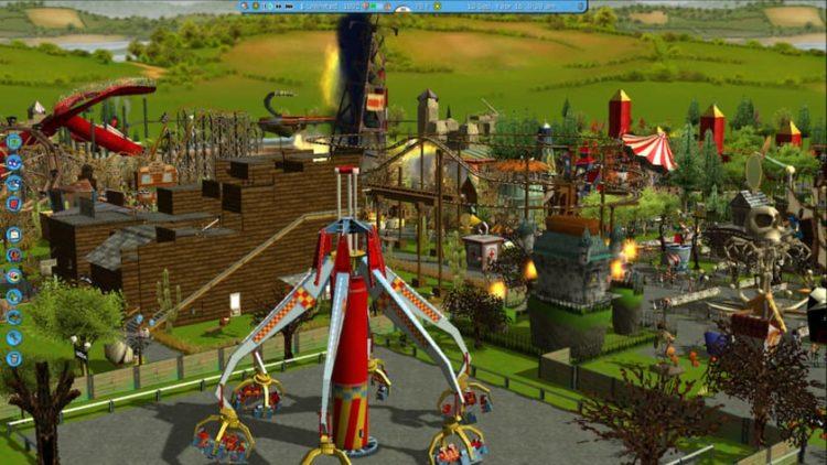 gog rollercoaster tycoon 3