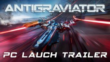Super Fast Racer Antigraviator Release Date Announced