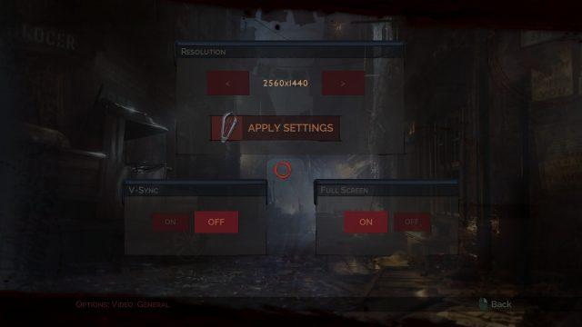 Vampyr Options 2