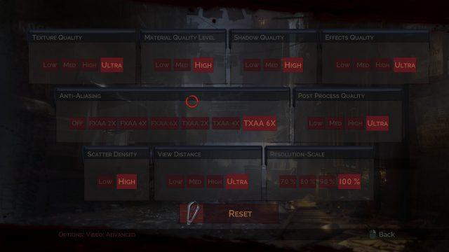 Vampyr Options 3