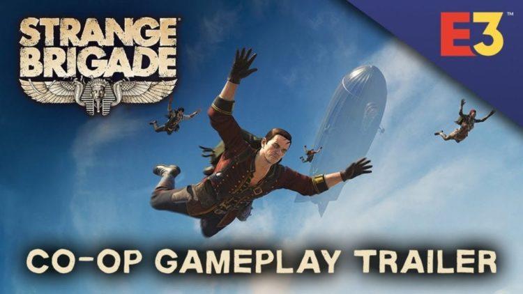 The Strange Brigade E3 co-op trailer heads to Hidden Valley