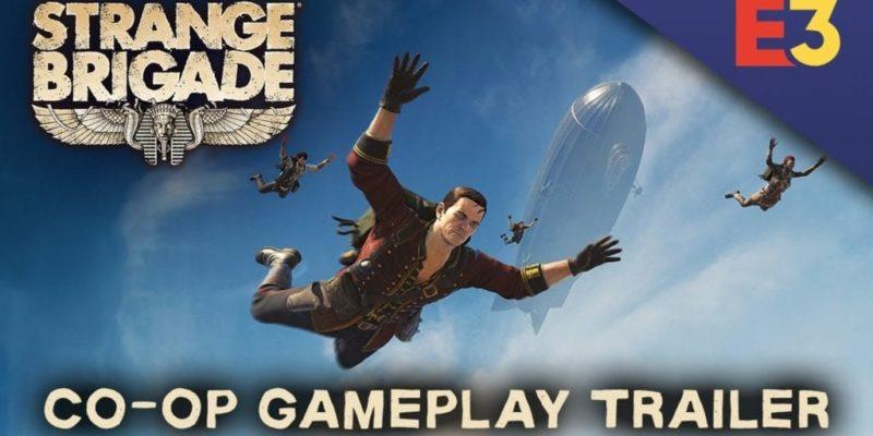 The Strange Brigade E3 Co Op Trailer Heads To Hidden Valley