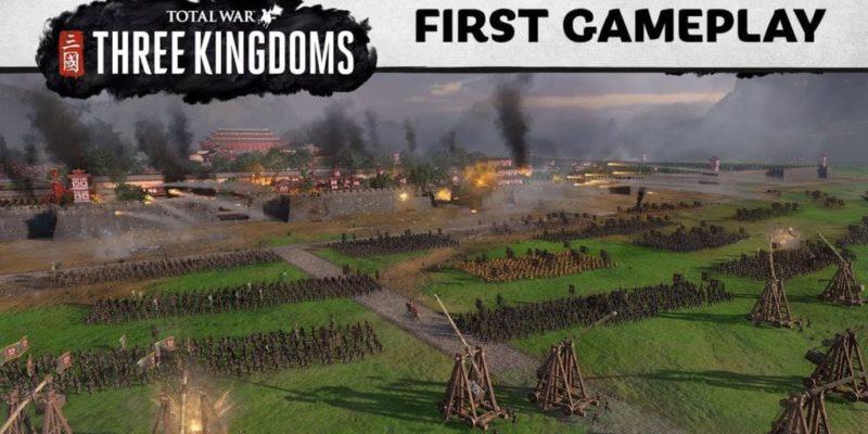 Total War: Three Kingdoms E3 Gameplay Reveal