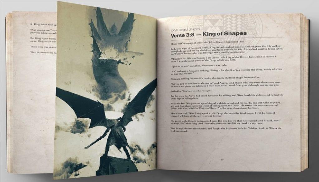 Destiny Grimoire Anthology Oryx