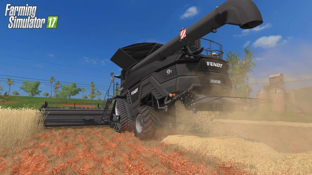 Farming Simulator 17 Estancia Lapacho Combine