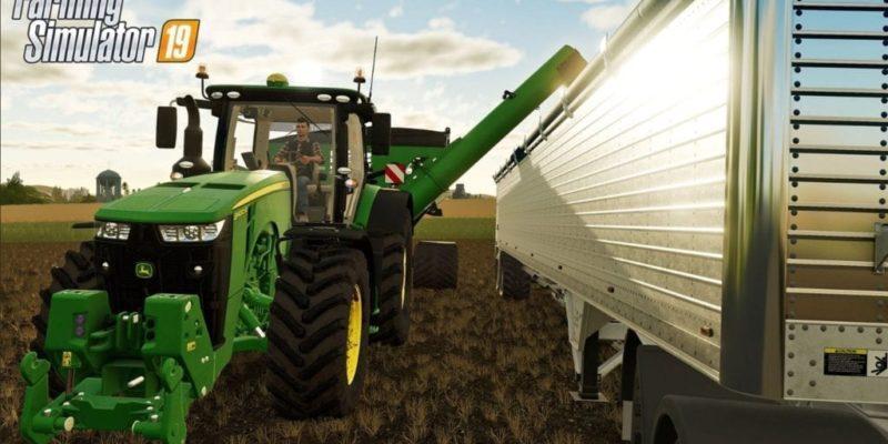 Farming Simulator 19 Joihn Deere And Trailer