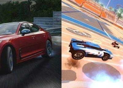 Forza Motorsport 7 X Rocket League