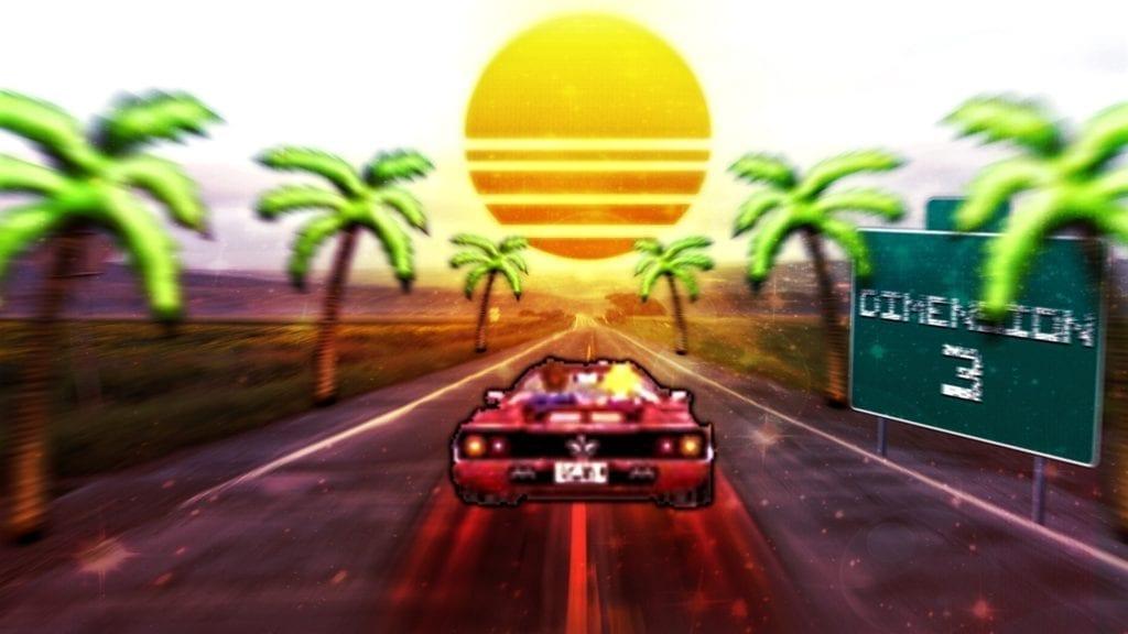 Outrun 3d Tropi