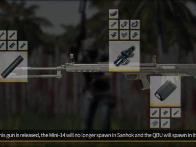 Pubg New Gun