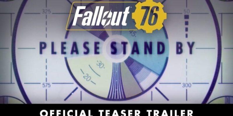 Bethesda Unveils Fallout 76 After Long, Random Stream